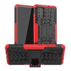 Odolný obal na Samsung Galaxy A02s   Armor case - Červená