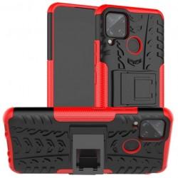 Odolný obal na Realme 7i | Armor case - Červená