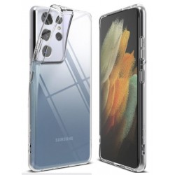 Samsung Galaxy S21 5G silikonový průhledný obal