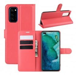 Knížkové pouzdro s poutkem pro Samsung Galaxy A52 5G - Červená