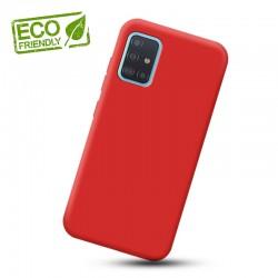 Liquid silikonový obal na Samsung Galaxy M31s | Eco-Friendly - Červená