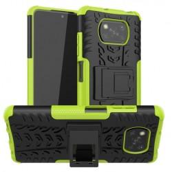 Odolný obal na Xiaomi POCO X3 Pro   Armor case - Zelená