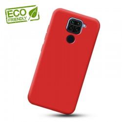 Liquid silikonový obal na Xiaomi Redmi Note 9 | Eco-Friendly - Červená