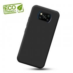 Liquid silikonový obal na Xiaomi POCO X3 Pro   Eco-Friendly - Černá
