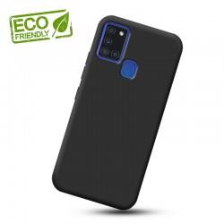 Liquid silikonový obal na Samsung Galaxy A21s   Eco-Friendly - Černá