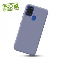 Liquid silikonový obal na Samsung Galaxy A21s   Eco-Friendly - Modrá