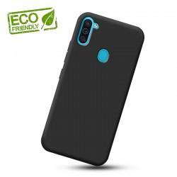 Liquid silikonový obal na Samsung Galaxy M11   Eco-Friendly - Černá