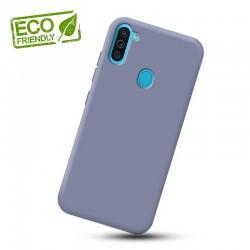 Liquid silikonový obal na Samsung Galaxy M11   Eco-Friendly - Modrá