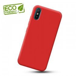 Liquid silikonový obal na Xiaomi Redmi 9A   Eco-Friendly - Červená