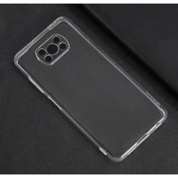 Silikonový průhledný obal na Xiaomi Poco X3 NFC