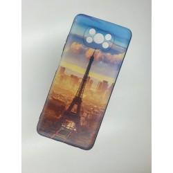 Silikonový obal na Xiaomi POCO X3 NFC s potiskem - Paříž