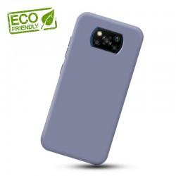 Liquid silikonový obal na Xiaomi POCO X3 NFC   Eco-Friendly - Modrá