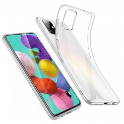 Silikonový průhledný obal na Samsung Galaxy M12
