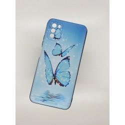 Silikonový obal na Samsung Galaxy M12 s potiskem - Motýli