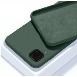 Liquid silikonový obal na Samsung Galaxy A12   Eco-Friendly - Zelená