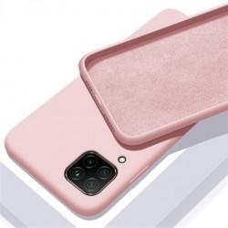 Liquid silikonový obal na Samsung Galaxy A12   Eco-Friendly - Růžová