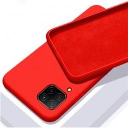 Liquid silikonový obal na Samsung Galaxy M12 | Eco-Friendly - Červená