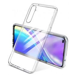 Silikonový průhledný obal na Realme X50 5G