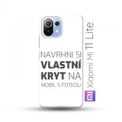 Xiaomi Mi 11 Lite kryt s vlastní fotkou