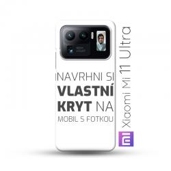 Xiaomi Mi 11 Ultra kryt s vlastní fotkou