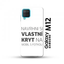 Samsung Galaxy M12 kryt s vlastní fotkou