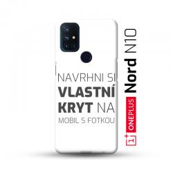 OnePlus Nord N10 kryt s vlastní fotkou