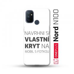 OnePlus Nord N100 kryt s vlastní fotkou