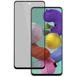 Tvrzené ochranné sklo na Samsung Galaxy A72 - protišpionážní