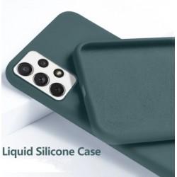 Liquid silikonový obal na Samsung Galaxy A72 | Eco-Friendly - Zelená