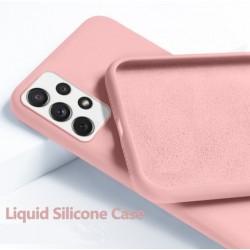 Liquid silikonový obal na Samsung Galaxy A72 | Eco-Friendly - Růžová