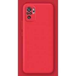Liquid silikonový obal na Xiaomi Redmi Note 10S   Eco-Friendly - Červená