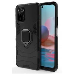 Odolný kryt na Xiaomi Redmi Note 10 | Panzer case - Černá