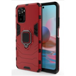 Odolný kryt na Xiaomi Redmi Note 10 | Panzer case - Červená