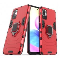 Odolný kryt na Xiaomi Redmi Note 10 5G   Panzer case - Červená