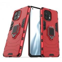 Odolný kryt na Xiaomi Mi 11 Lite | Panzer case - Červená