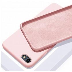 Liquid silikonový obal na iPhone 7 | Eco-Friendly - Růžová