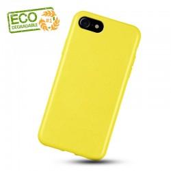 Liquid silikonový obal na iPhone 7 | Eco-Friendly - Žlutá