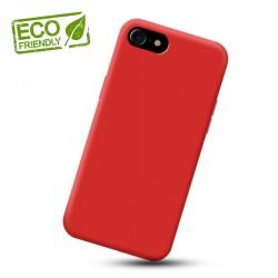 Liquid silikonový obal na iPhone 8 | Eco-Friendly - Červená