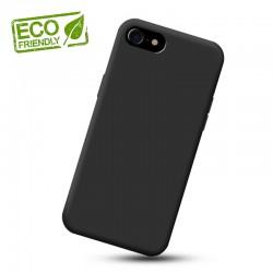 Liquid silikonový obal na iPhone SE 2020 | Eco-Friendly - Černá