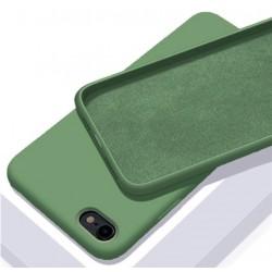 Liquid silikonový obal na iPhone SE 2020 | Eco-Friendly - Zelená