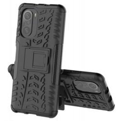 Odolný obal na Xiaomi POCO F3 | Armor case - Černá