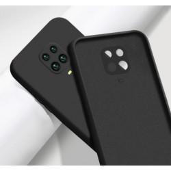 Liquid silikonový obal na Xiaomi Redmi Note 9S   Eco-Friendly - Černá