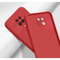Liquid silikonový obal na Xiaomi Redmi Note 9S   Eco-Friendly - Červená