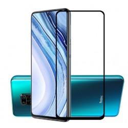 Tvrzené ochranné sklo s černými okraji na mobil Xiaomi POCO F3