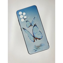 Silikonový obal s potiskem na Samsung Galaxy A72 - Motýli