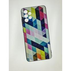 Silikonový obal s potiskem na Samsung Galaxy A32 5G - Colormix