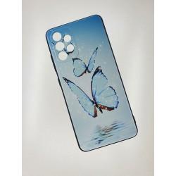 Silikonový obal s potiskem na Samsung Galaxy A32 5G - Motýli