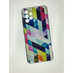 Silikonový obal s potiskem na Samsung Galaxy A52 5G - Colormix