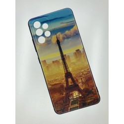 Silikonový obal s potiskem na Samsung Galaxy A52 5G - Paříž