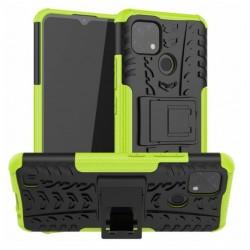 Odolný obal na Realme C21   Armor case - Zelená